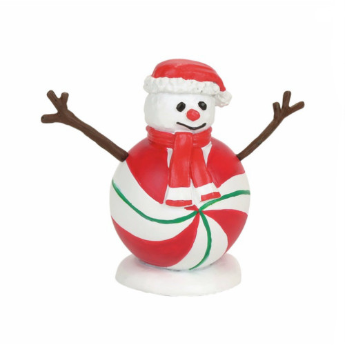 Department 56 -  Village Accessory - Peppermint Snowman
