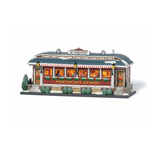 Department 56 - Christmas in the City Village - American Diner