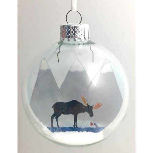 Tis The Season on Celluloid Print Ornament - Handmade by Artist Glāk Love