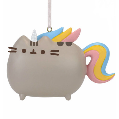 Pusheen Cat Magical Unicorn Ornament