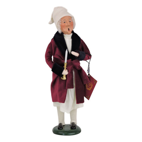 Byers' Choice-  A Christmas Carol- Scrooge Caroler