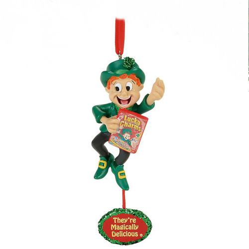 Lucky Charms Leprechaun Ornament