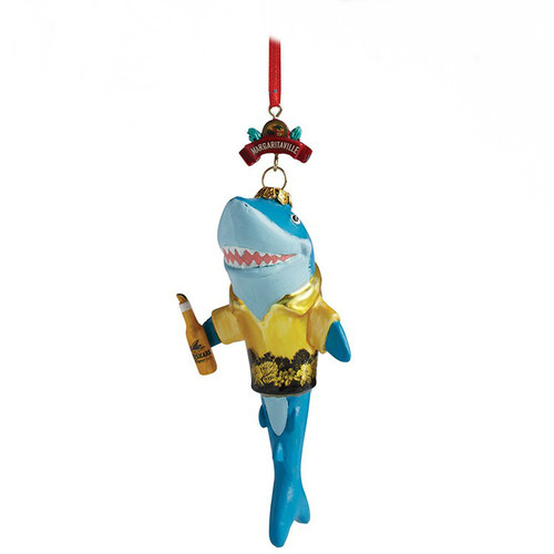 Margaritaville Shark in a Shirt Ornament