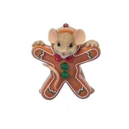 Charming Tails - Mouse Gingerbread Cookie