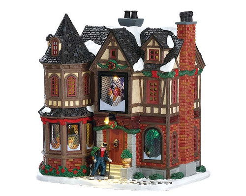 Lemax- Scrooges Manor