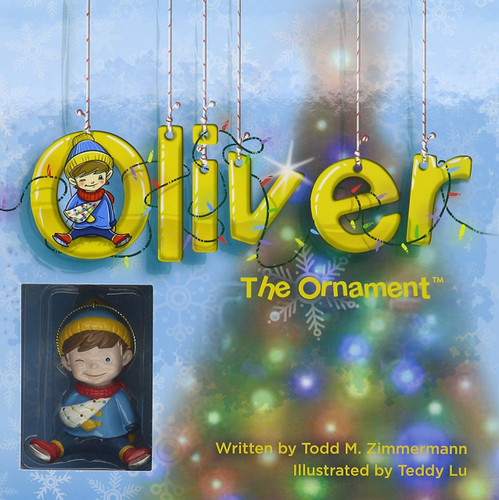 Oliver the Ornament Book and Ornament Set
