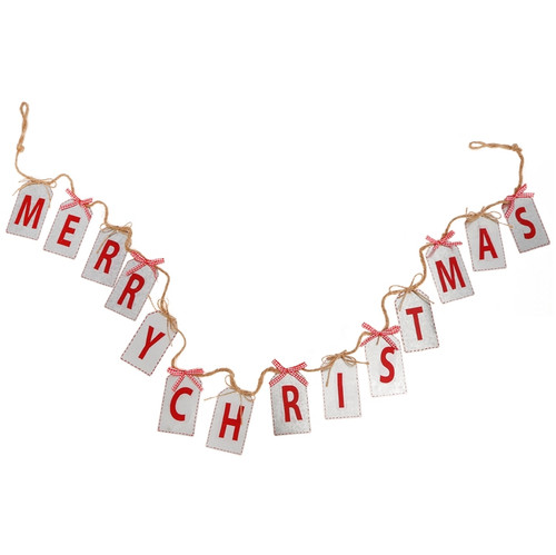 6' Merry Christmas Banner
