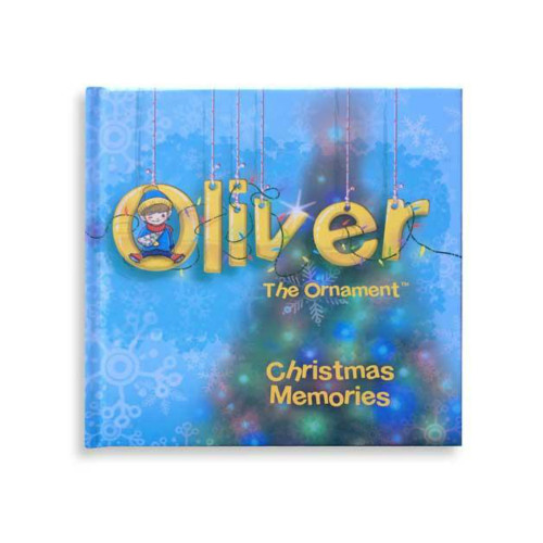 Oliver the Ornament Christmas Memories Log Book