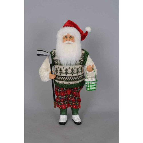Karen Didion - Golf Santa