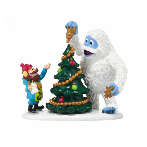 Department 56 - North Pole Village - Cornelius & Bumble New Venture Accessory