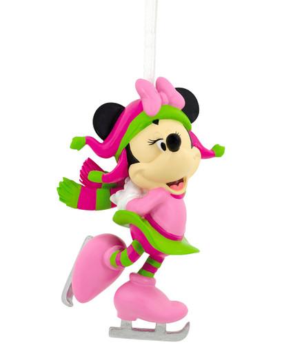 Hallmark Disney- Minnie Mouse Skating Ornament
