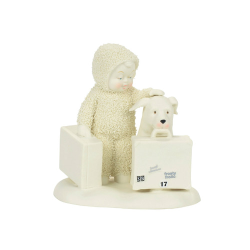Department 56 - Snowbabies - Travel Buddies