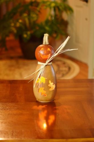 Meadowbrooke Gourds- Tall Lit Fall Dexter