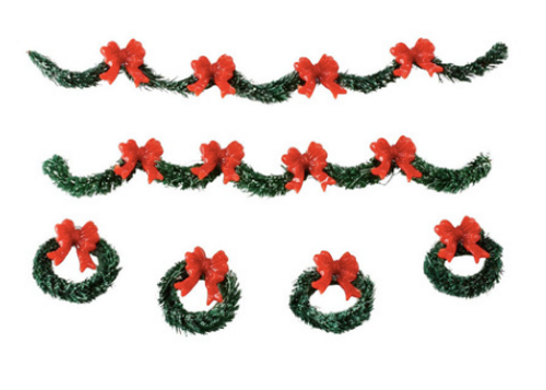 City Holiday Boughs - Set of 6