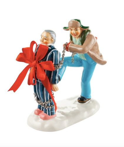 Department 56- National Lampoon's Christmas Vacation- Present for Clark