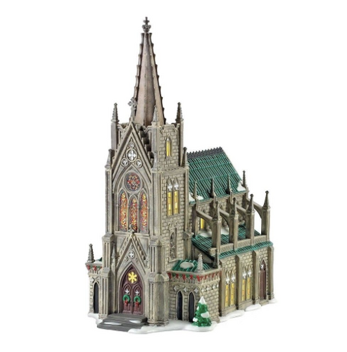 Department 56- Christmas in the City- Cathedral of St. Nicholas