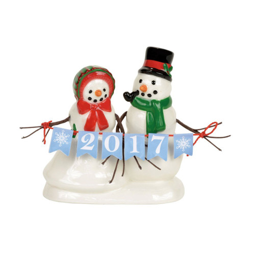 Department 56 - Lucky The Snowman 2017