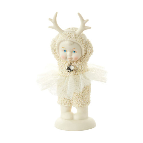 Department 56 - Snowbabies Wanna-Be Reindeer Porcelain Figurine