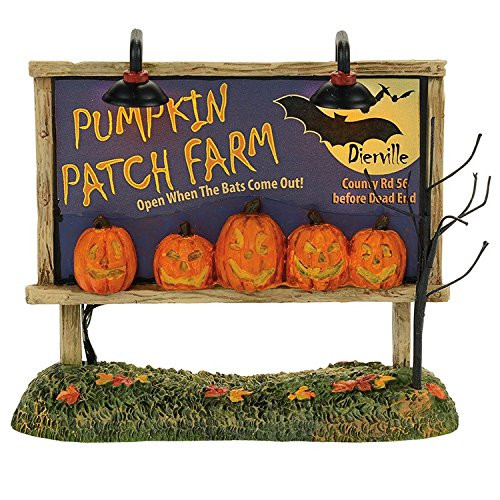 Department 56 - Lit Pumpkin Patch Billboard