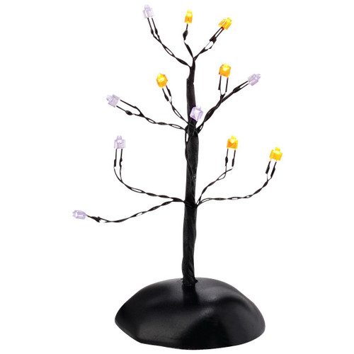 Department 56 - Halloween Village Twinkle Brite Halloween Shrubs Tree