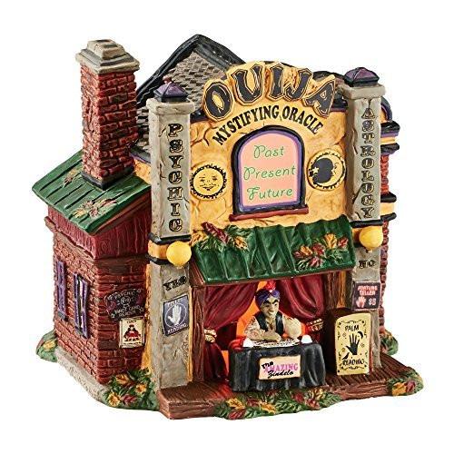 Department 56 Halloween Village Ouija The Mystifying Oracle Lit Building