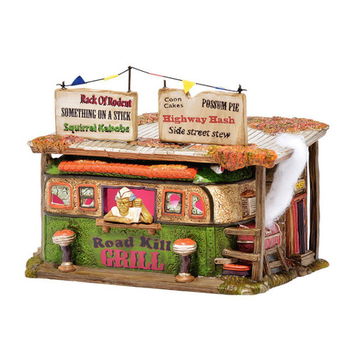 Department 56 -Halloween Village-  Road Kill Grill Lit House