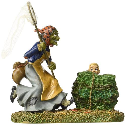 Department 56 -Halloween Village -Witch Trap Accessory Figurine