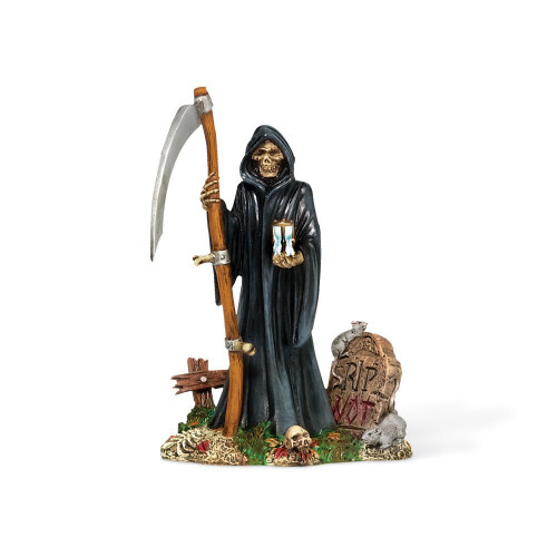 Department 56 - Halloween Snow Village -The Grim Reaper