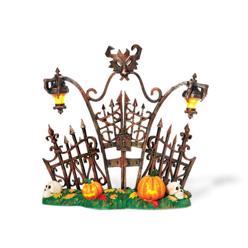 Department 56 - Halloween Snow Village - Gothic Gate