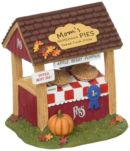 Department 56  -  Harvest Fields Pie Stand Accessory