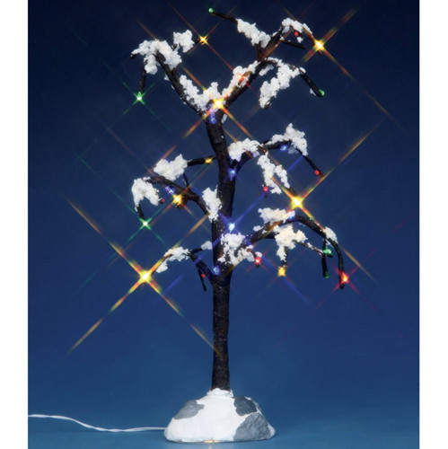 Lemax Village Collection Snowy Dry Tree Medium 9 inch