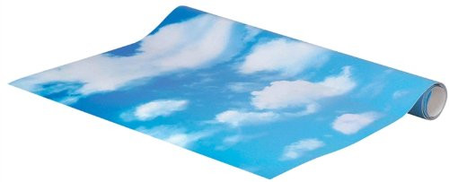 Lemax - Sky Backdrop 4 Foot Landscape Background Christmas Village