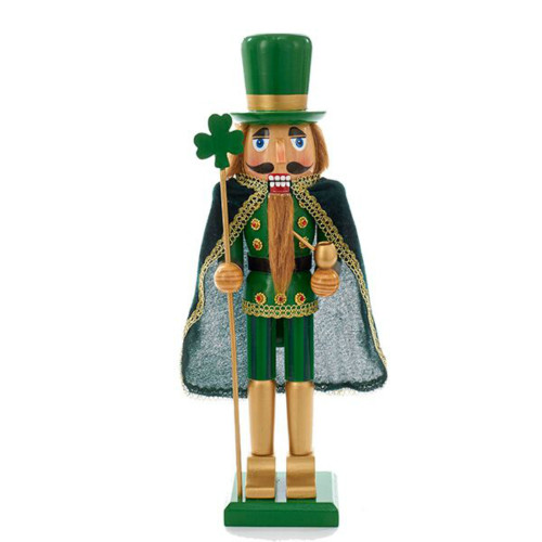 "Kurt Adler - 15"" Wooden Irish Nutcracker"