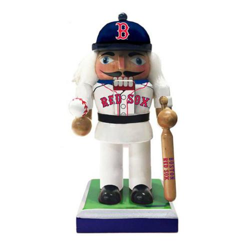 """Kurt Adler - 6"""" MLB Boston Red Sox Wooden Mini Nutcracker"""