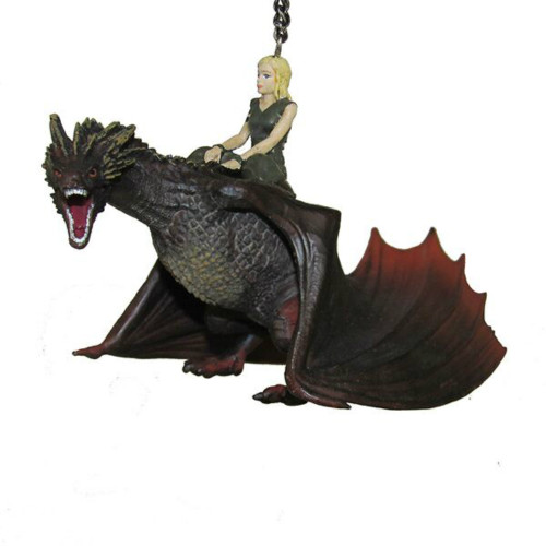 Game of Thrones Daenerys and Drogon Ornament
