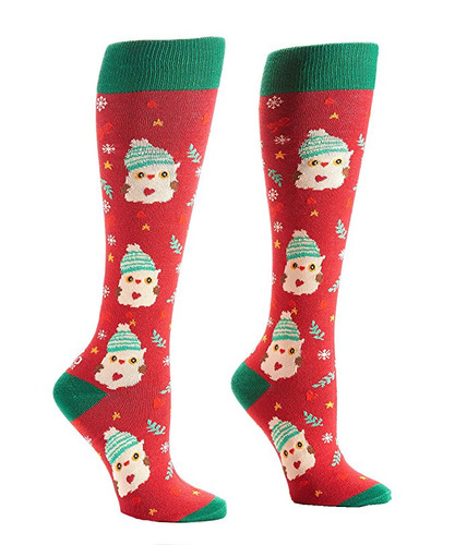 Yo Sox Women's Christmas Knee High Novelty Socks