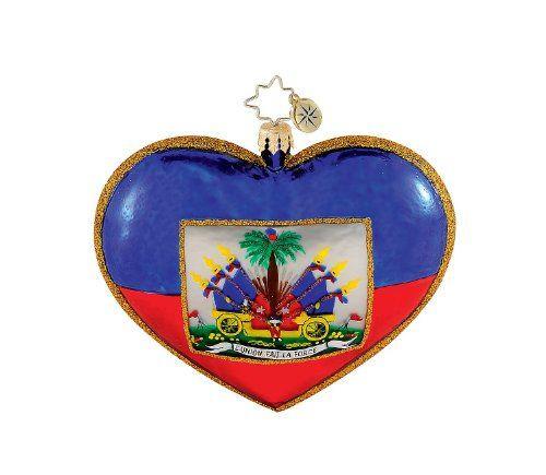 Christopher Radko - A heart for Haiti