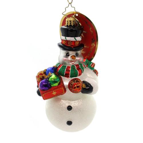Christopher Radko Frosty's Trimmings Little Gem Ornament