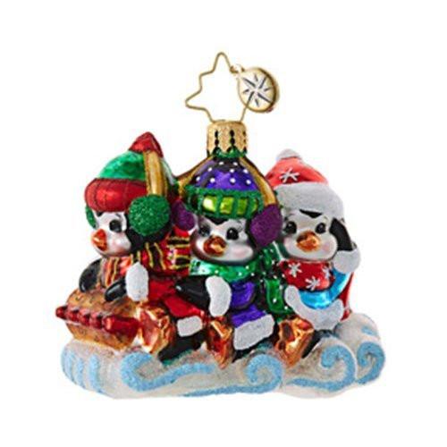Christopher Radko Silly Sliders Little Gem Christmas Ornament