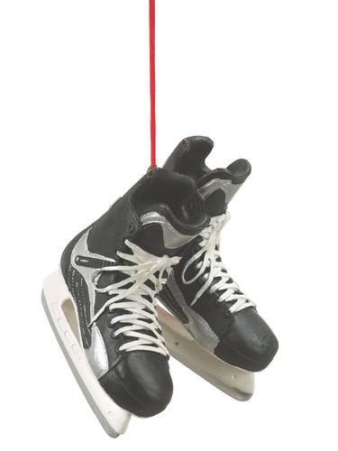 Ice Hockey Skates Christmas Ornament