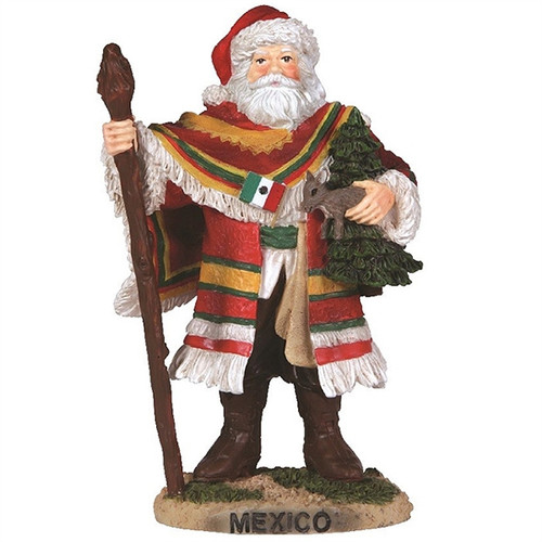 Precious Moments -  Mexico Santa - Pipka Figurine