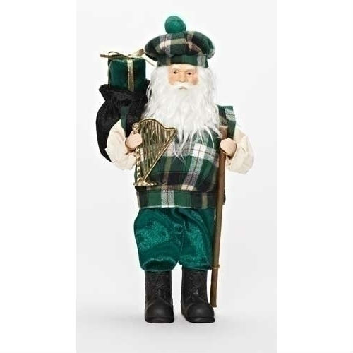 Irish Santa Figurine