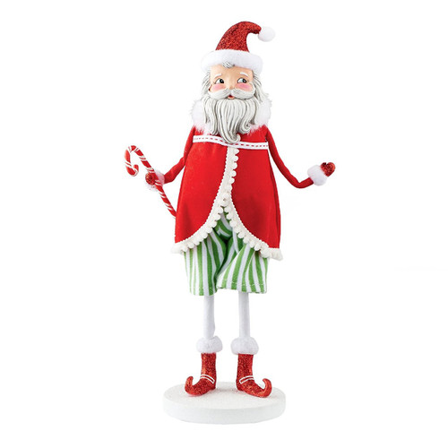 "Department 56 - Mrs. Claus Sweet Shoppe Santa Claus Figurine, 10.5"""