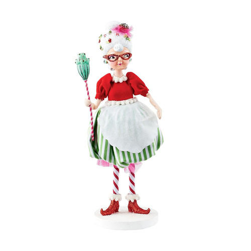 Department 56 - Mrs. Claus Sweet Shoppe Mrs. Claus Figurine, 10.5""