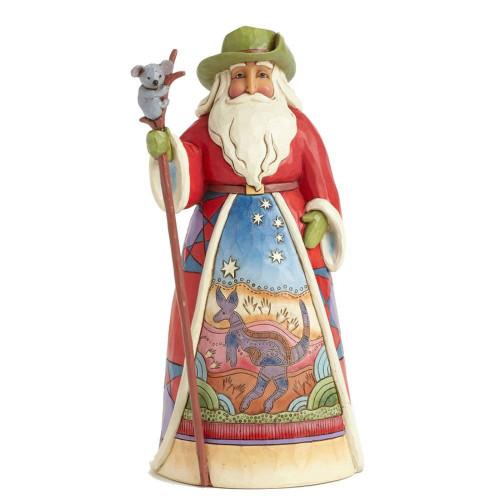 Jim Shore Australian Santa Figurine