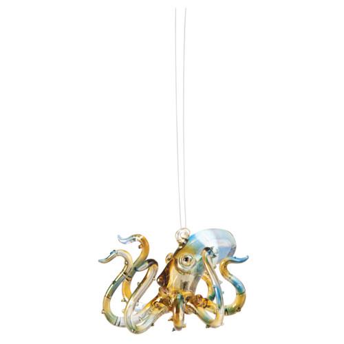 Glass Octopus Ornament
