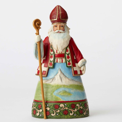 Jim Shore - Swiss Santa Figurine