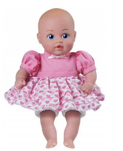 Adora- Pink Heart Dress Doll