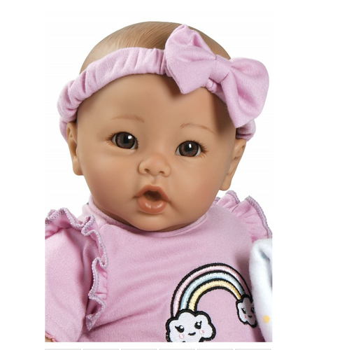 Adora- Babytime Lavender Doll with Brown Eyes