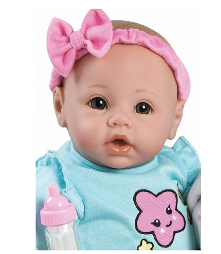 Adora- Babytime Rainbow Doll with Brown Eyes